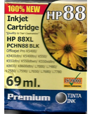 P.COLOR  K550/K5400/K8600/L7580 NEGRO H88N ALTERNATIVO