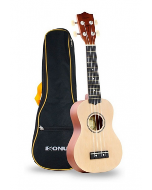SONUN UKELELE KAUAI 21/NATURAL/FUNDA/AQUILA STRINGS