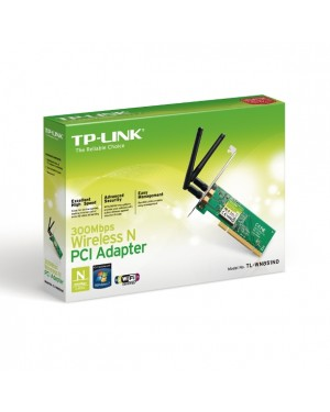 TP-LINK 300 PCI TL-WN851N 2T2R, 2ANT. DESMONTABLES