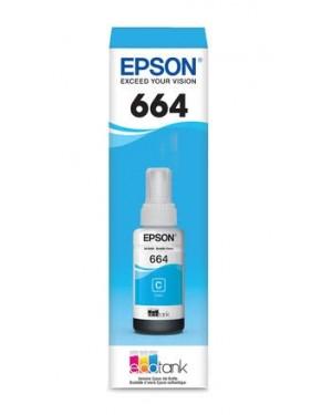 EPSON 664220 BOT.TINTA CYAN P/L110-210-