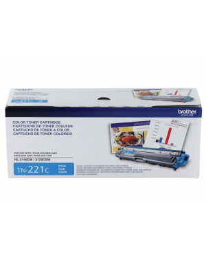 BROTHER TONER TN-221 CYAN