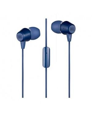 JBL AUDIF/MIC C50HI IN-EAR WIRED BLUE