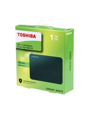 "TOSHIBA DISCO EXTERNO 1TB 2.5"" US 3.0 CANVIO"