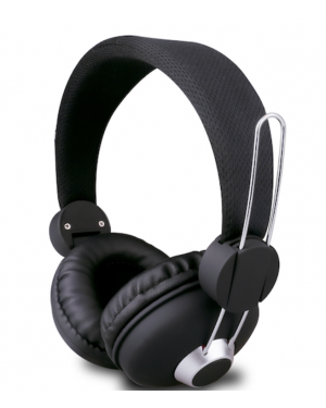 MLAB AUDIFONO C/MIC P1000 BLACK