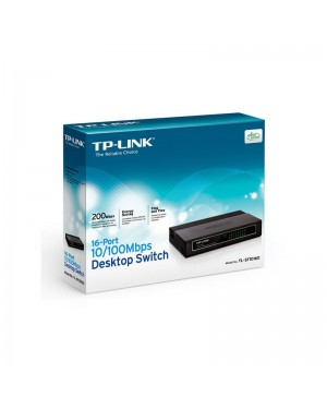 TP-LINK SWITCH 16 PORT 10/100 ETHERNET
