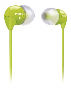 PHILIPS AUDIFONO SHE3590 VERDE