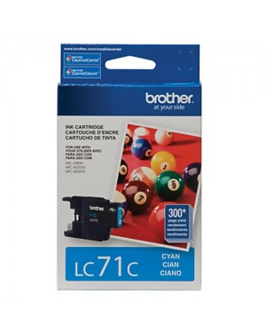 BROTHER CARTRIDGE LC71 CYAN