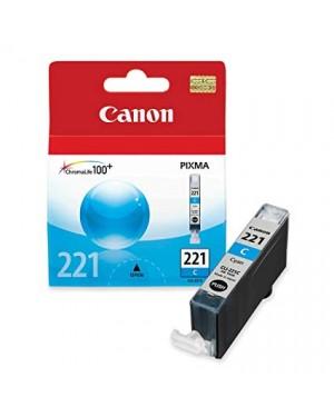 CANON CARTRIDGE CLI-221 CYAN P/IP3600/46004700MP540/MP560/MP620/MP630/MP640/MP980/MP991