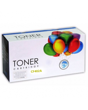 GTC TONER H201A CF402A YELLOW ALTERNATIVO