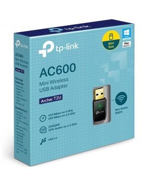 TP LINK TARJETA RED USB WiFi DUAL-BAND AC600 Archer T2U