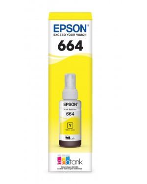 EPSON 664420 BOT. TINTA YELLOW P/L110-210-